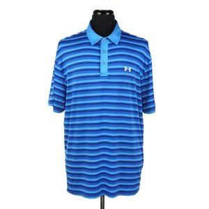 Under Armour Cold Black S/S Golf Polo Shirt XXL
